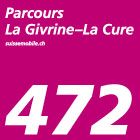 Parcours La Givrine–La Cure