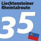 Liechtensteiner Rheintalroute