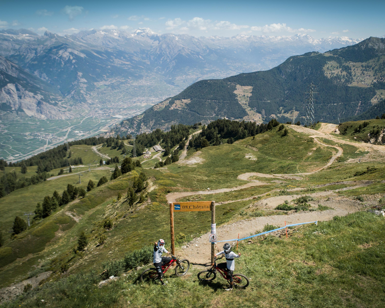 Flow trail La Tzoumaz