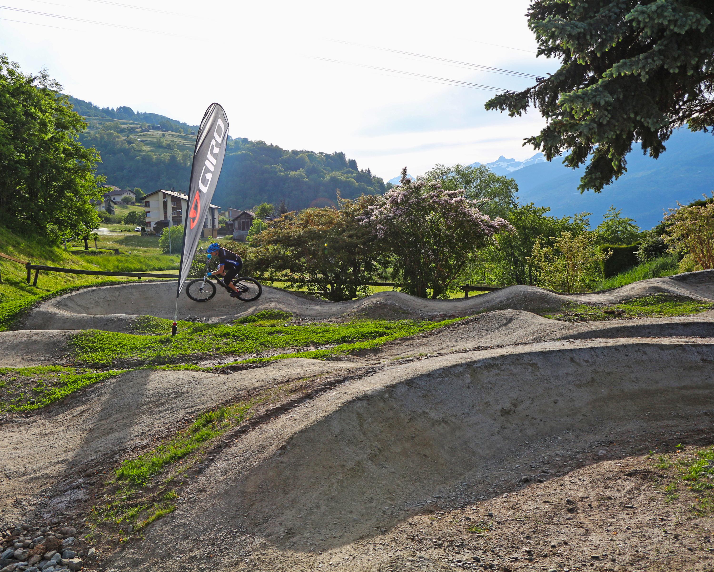 Pump track Walliserhof