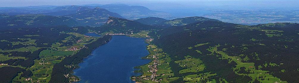 Au sommet du Jura suisse