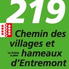 Chemin des villages et hameaux d'Entremont
