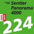 Sentier Panorama 4000