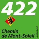 Chemin de Mont-Soleil