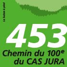 Chemin du 100e du CAS Jura