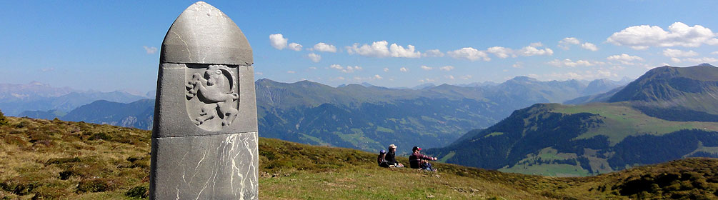 Dreibündenstein Panoramaweg