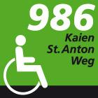 Kaien-St. Anton-Weg