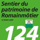 Sentier du patrimoine de Romainmôtier