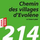 Chemin des villages d'Evolène