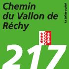 Chemin du Vallon de Réchy