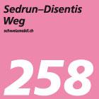 Sedrun-Disentis-Weg