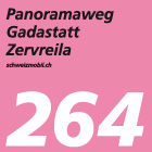 Panoramaweg Gadastatt–Zervreila