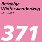 Bergalga-Winterwanderweg