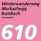 Winterwanderweg Marbachegg–Bumbach