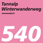 Tannalp-Winterwanderweg