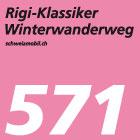 Rigi-Klassiker-Winterwanderweg