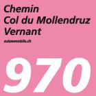 Chemin Col du Mollendruz–Vernant