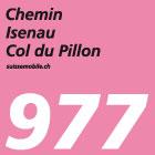 Chemin Isenau–Col du Pillon