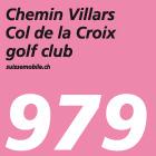Chemin Villars–Col de la Croix golf club