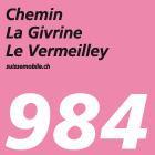 Chemin La Givrine–Le Vermeilley