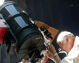 Astronomic observatory Mont- Soleil