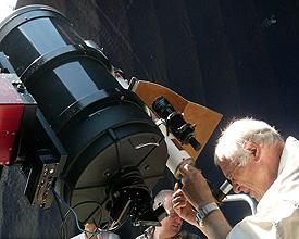 Observatorium Mont Soleil Teleskop